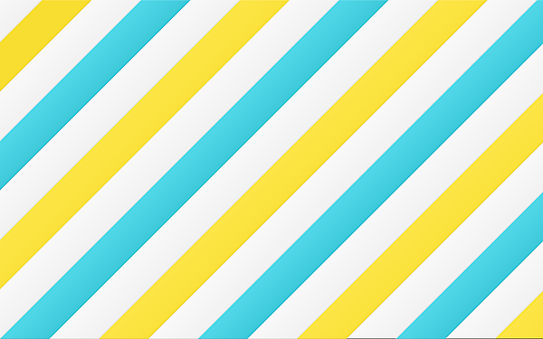 Diagonal yellow and blue lines