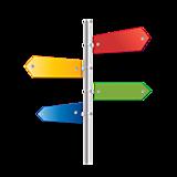 Signpost. Arrows